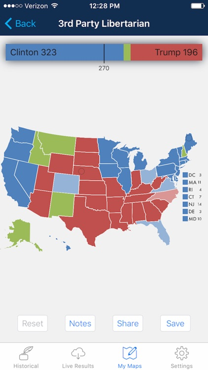 Presidential Election & Electoral College Maps screenshot-4