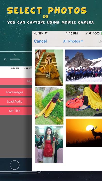 Photo Slide Show & Video Maker - Create Photo SlideShow iOS screenshot-3