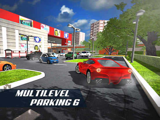 Multi Level Car Parking 6 АвтомобильГонки на iPad