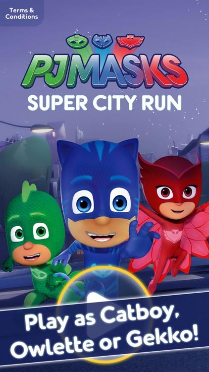 PJ Masks: Super City Run screenshot-0