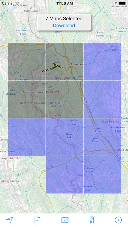 Topo Maps Canada screenshot-2