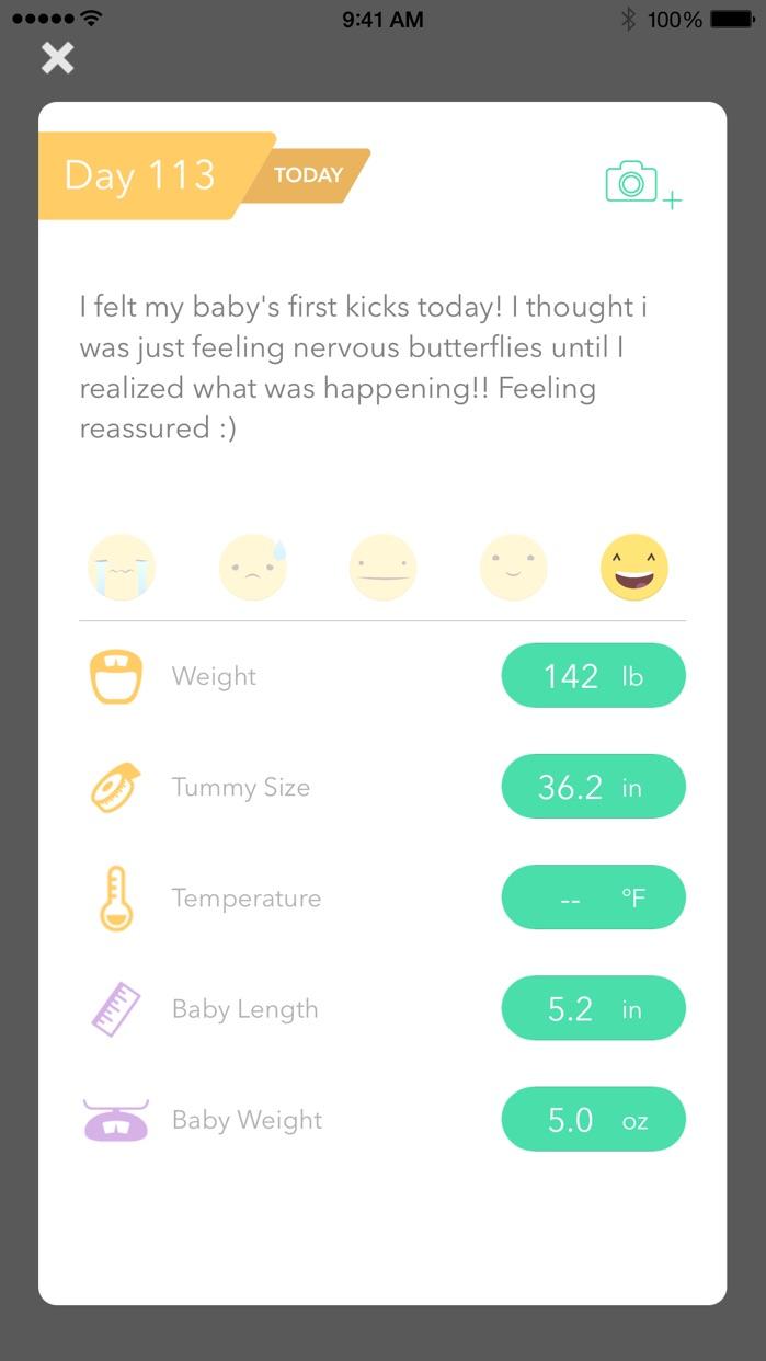 Pregnancy Tracker ! Screenshot