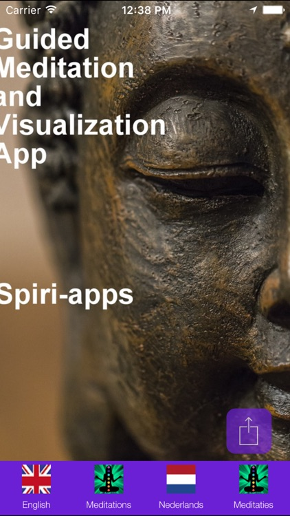 Guided Meditation and Visualization App