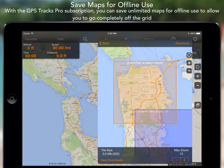 GPS Tracks HD screenshot-4