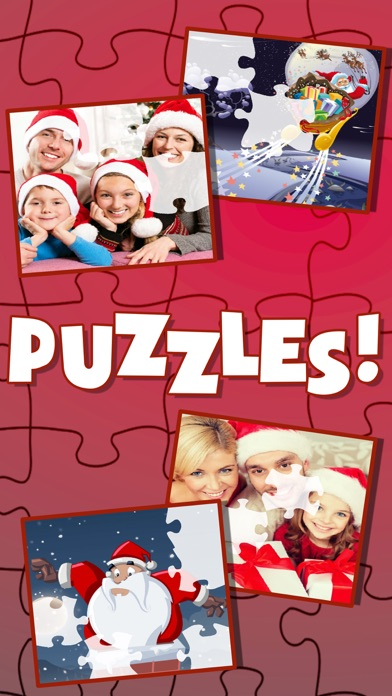 Christmas Slide Magic Puzzle screenshot one