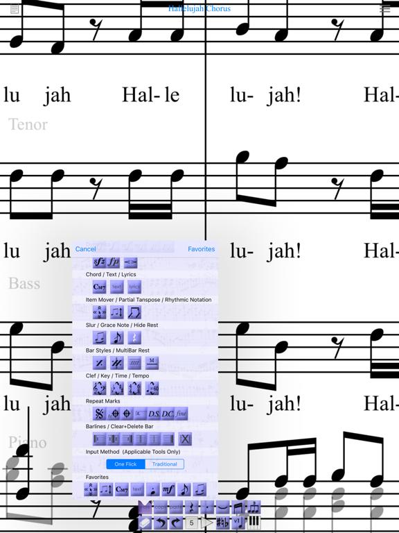 iWriteMusic for iPad screenshot three