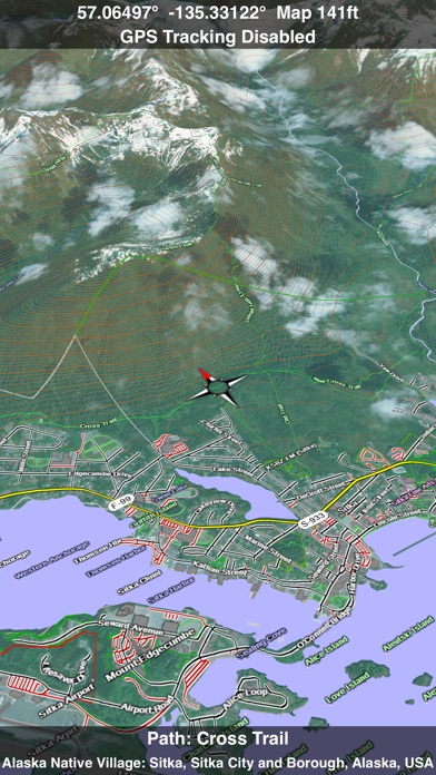 Scenic Map Alaska review screenshots