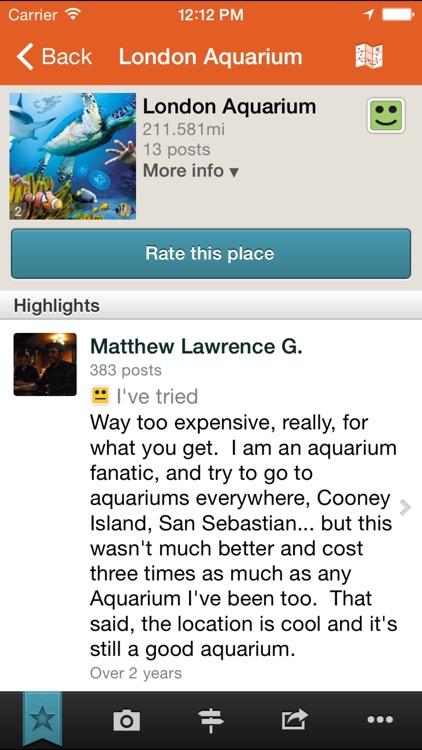 Tellmewhere : Restaurants Hotels Bars screenshot-3