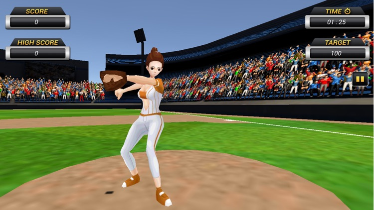 Homerun Baseball 3D screenshot-3