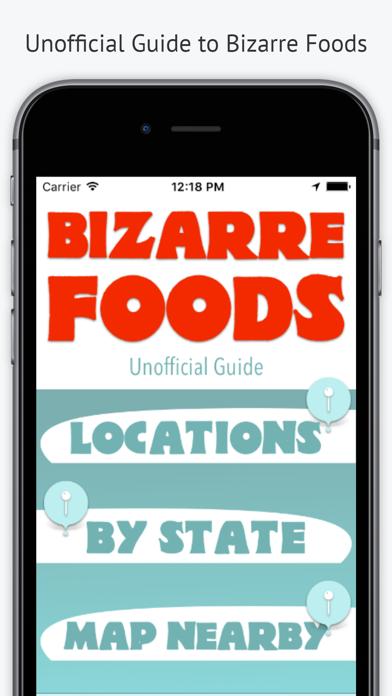 Bizarre Foods Unofficial Guide Screenshot