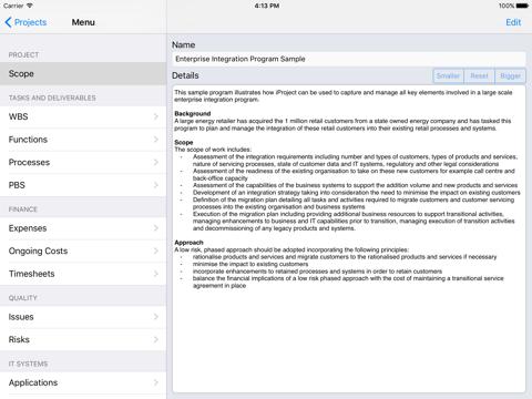 Screenshot of iProjectFree (mobile)