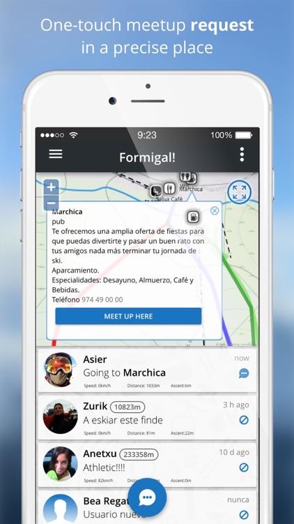 Skitoki: world ski trails, GPS sharing and stats