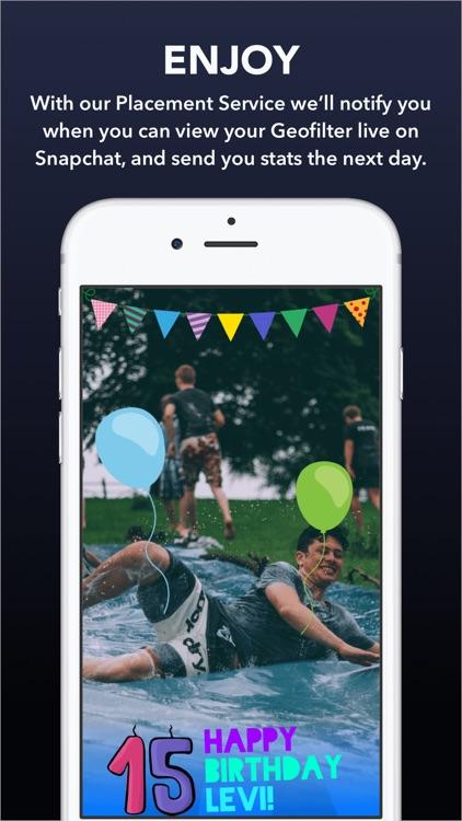 Confetti - Geofilter Design Maker for Snapchat screenshot-4