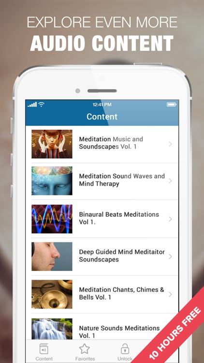 Relaxing Meditation Music & Calm Relaxing Sounds screenshot-3