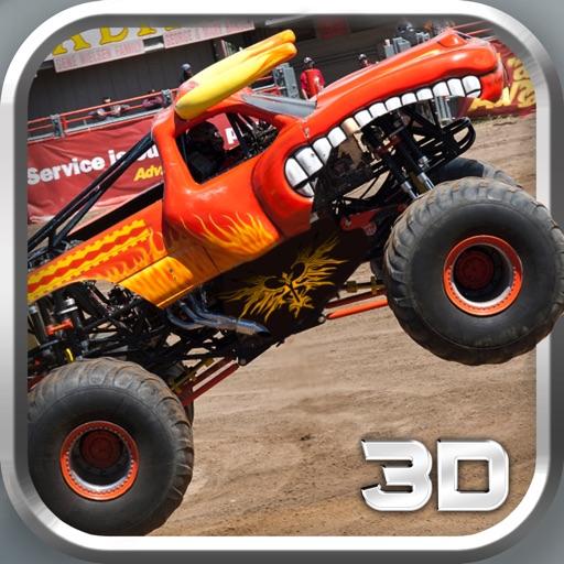 Monster Truck 3d Parking simulator game iOS App