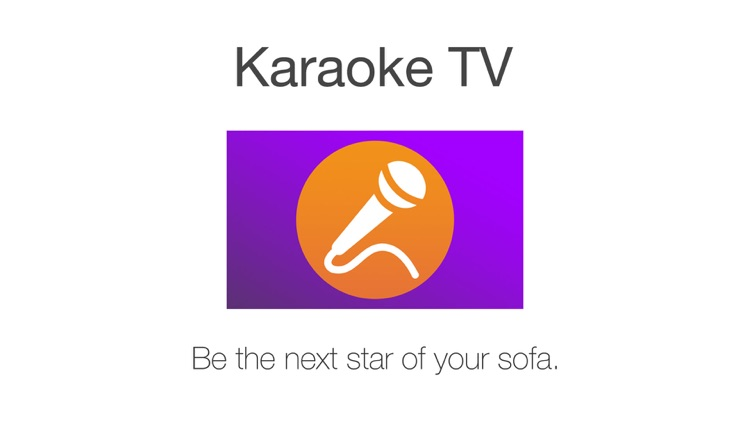 Karaoke TV™ - Sing from your sofa