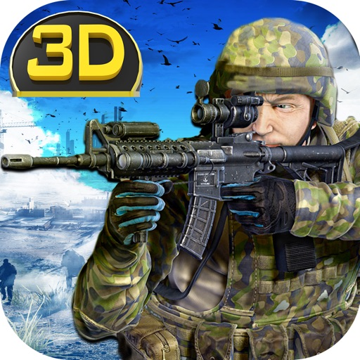 Army Commando Shooting 3D - A first person shooter sniper assassin game