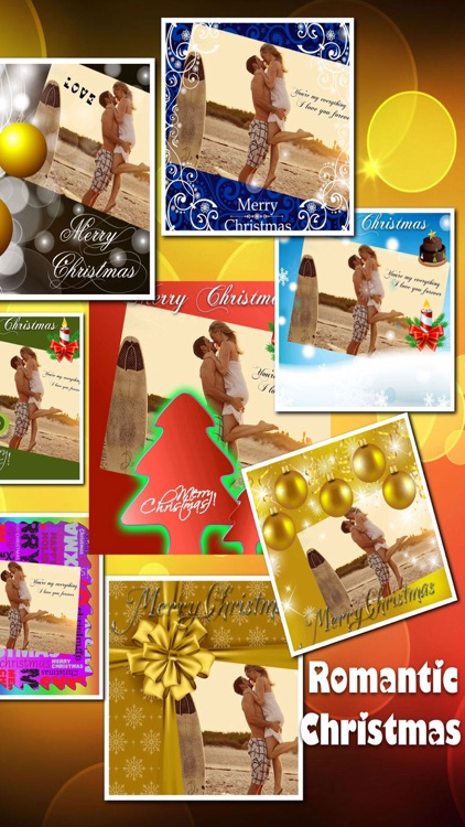 Lovely Christmas Frames Pro screenshot-1