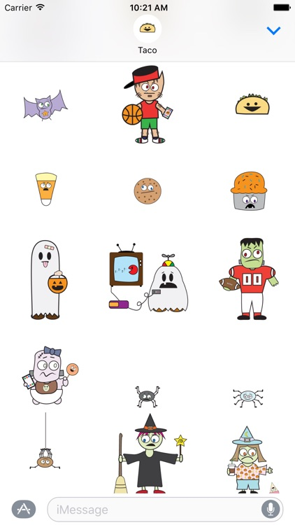 DooDads Halloween Stickers screenshot-2