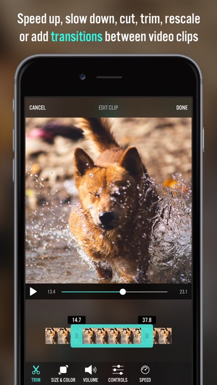 Video Editor Videorama - FX and Music Movie Maker app image