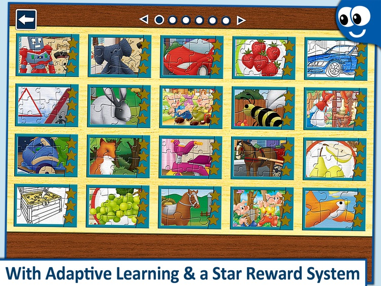 Kids Puzzles 4+: Jigsaw Puzzle School Learning Game for Preschoolers and Toddlers to Develop Concentration and Problem Solving Skills screenshot-3
