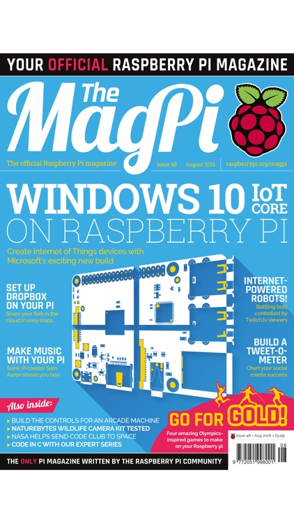 The MagPi Raspberry Pi screenshot-0
