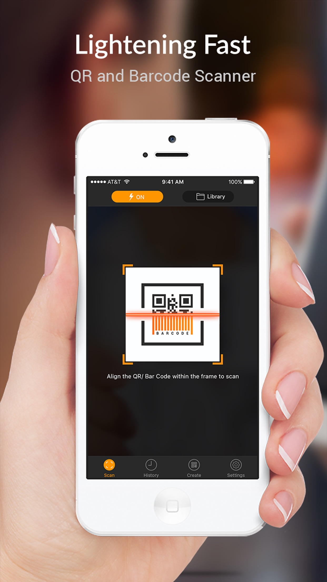 QR Scanner - QR Code Reader and Barcode Scanner Screenshot