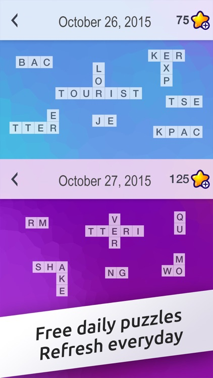 Crossword Jigsaw - Word Search and Brain Puzzle with Friends screenshot-3