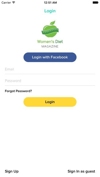 Women's Diet Magazine screenshot-3