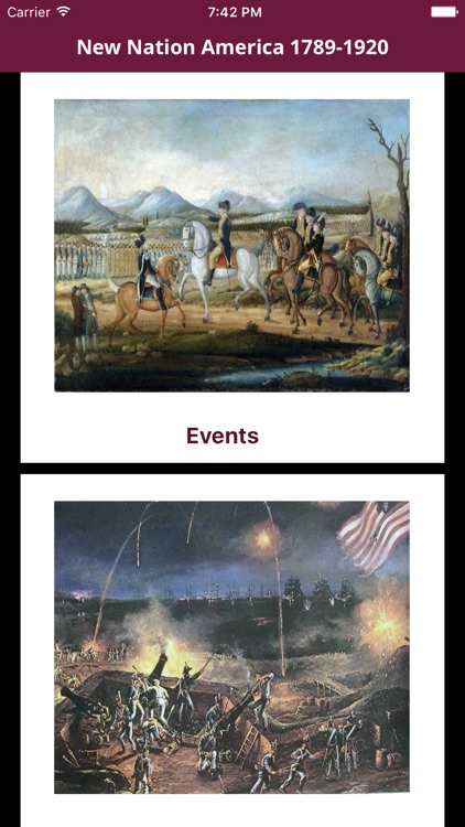 New Nation America- 1787-1820