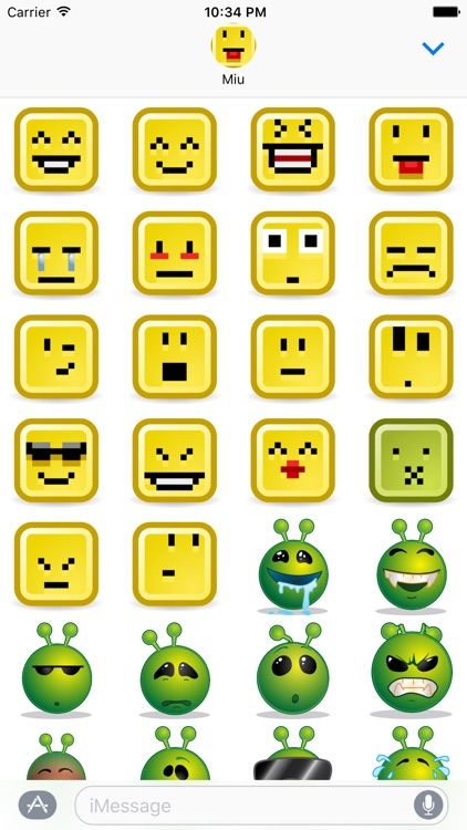 Lotsa Smileys for iMessage