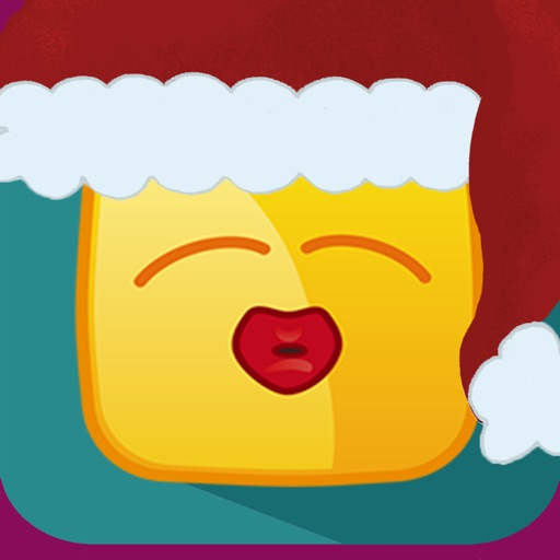 merry christmas funny emoji photo booth camera fx
