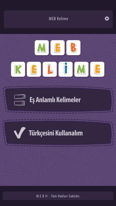 MEB-Kelime screenshot two
