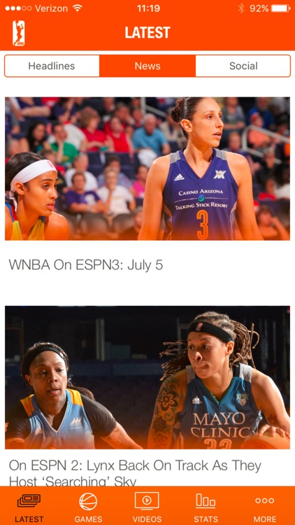 WNBA screenshot-3