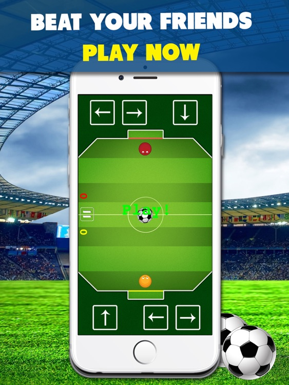 Chaos Soccer Scores Goal for iPad - Multiplayer football flick screenshot-4