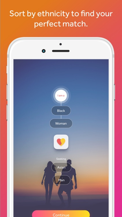 Color Dating - Asian, Black, White, Hispanic Chat app image