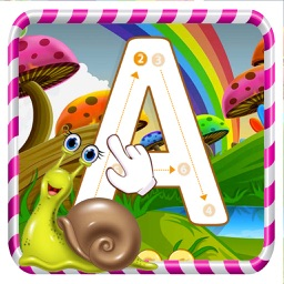 ABC Alphabet Tracing Coloring Educational Learning Game for kids