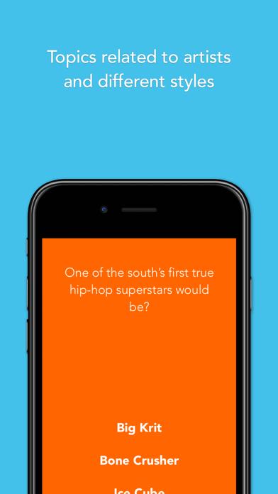 Era - Classic hip hop trivia and music game screenshot one