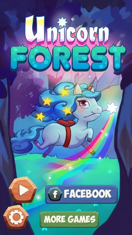 Unicorn Forest: Match 3 Puzzle screenshot-4