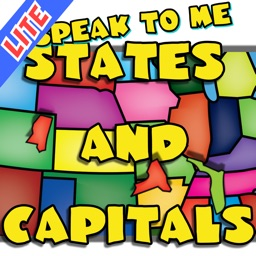 US Map and Capitals Puzzle LITE