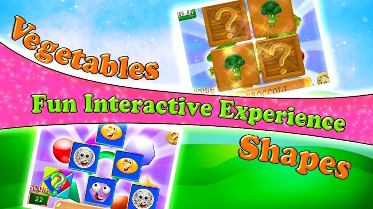Preschool Memory Match & Learn - Educational Games screenshot-3