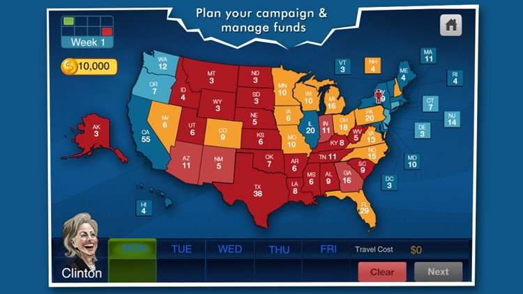 Battleground - The Election Game (FREE) screenshot-1