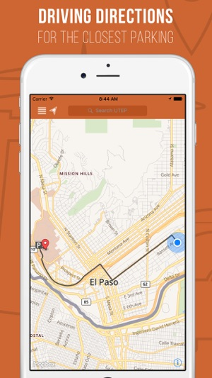 Campus Map Utep.Utep Maps App On The App Store