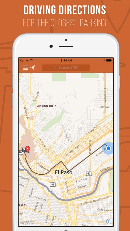 UTEP Maps App by The University of Texas at El Paso
