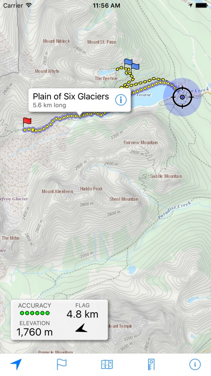 Topo Maps Canada screenshot-0