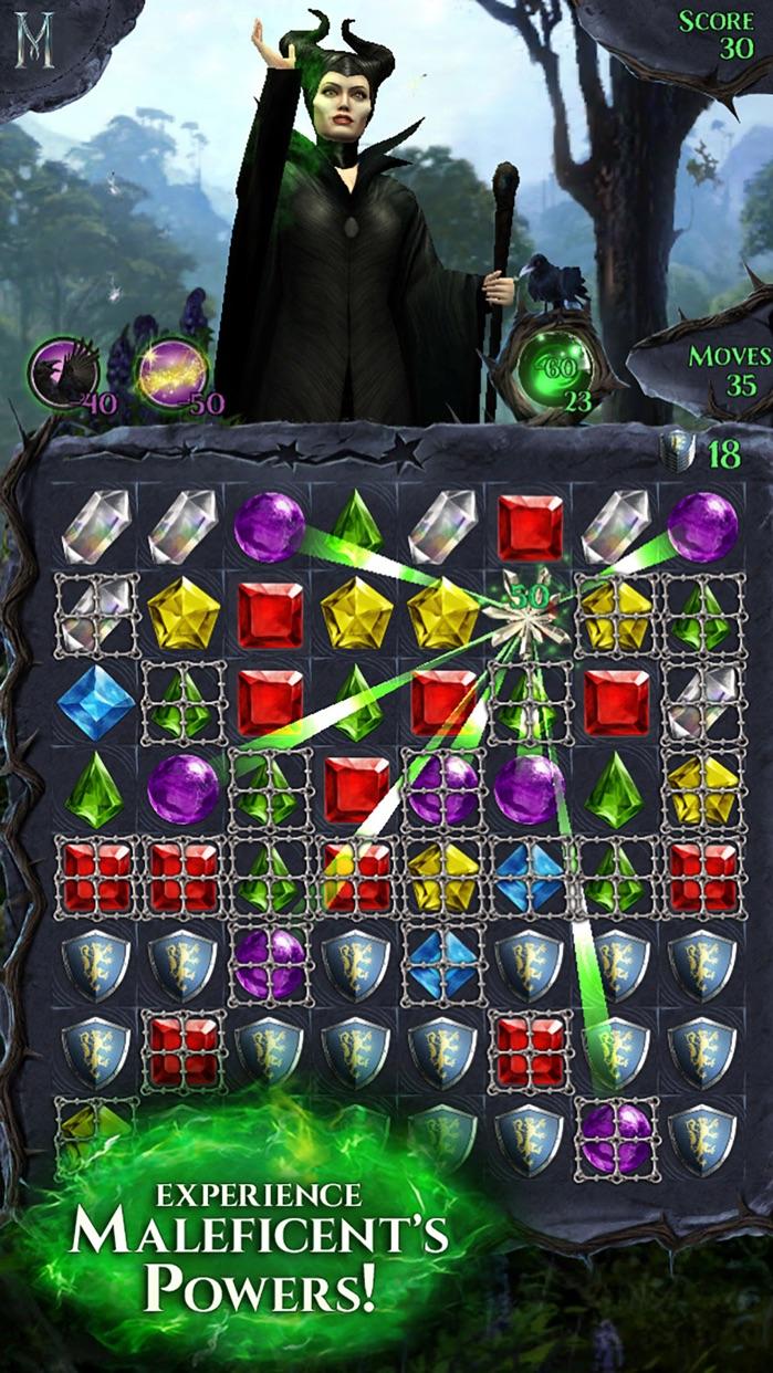 Maleficent Free Fall Screenshot