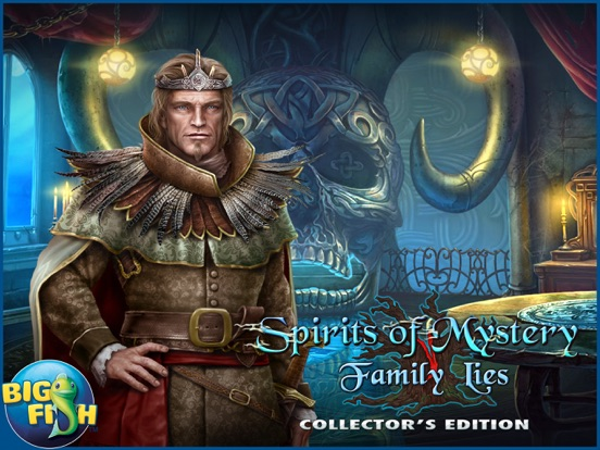 Spirits of Mystery: Family Lies - Hidden Object screenshot 10