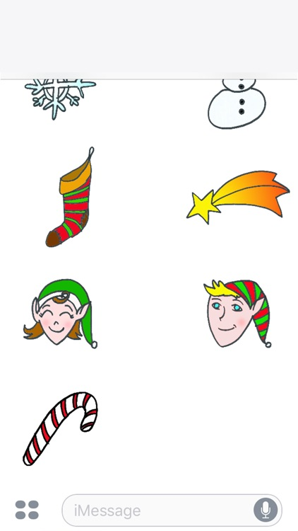 Xmas Sticker Set screenshot-4