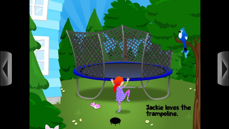 Jumping Jackie - A girl, a trampoline, and all the things she jumps with! screenshot-1