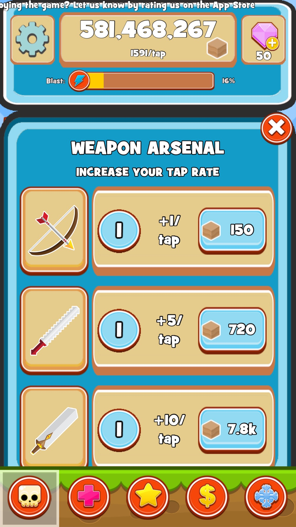 Blade Craft - Idle Clicker Game hack tool
